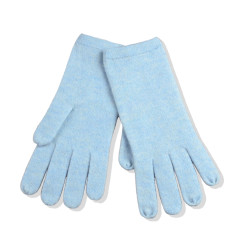 Cashmere full fingers gloves