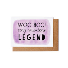 Legend greeting cards (pack of 5)