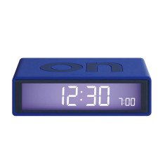 Flip Alarm Clock in Blue