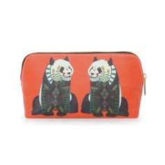 Red Panda Make Up Bag Or Pencil Case