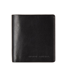 Merv leather wallet in black