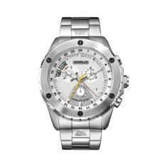 CAT Power Tech series watch in steel & white