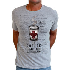 Coffee coalition men's t-shirt