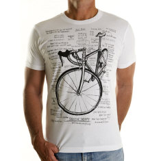Cognitive therapy men's t-shirt in white