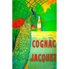 Cognac Jacquet vintage wall tile