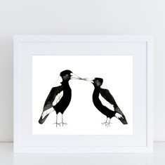 Two for Joy - Magpie Limited Edition Fine Art Print