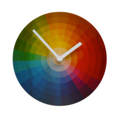 Objectify Colour Wheel Clock