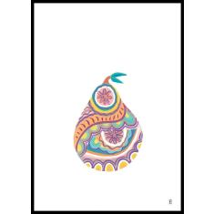 Pear art print (various designs)