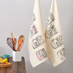 Organic condiments tomato ketchup tea towels