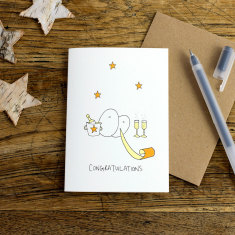 Congratulations greeting card (pack of 6)