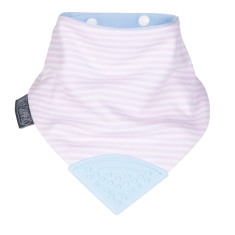 Neckerchew dribble bib in Cool Chic print