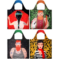LOQI reusable bag cool people collection