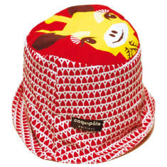 Sun hat in giraffe