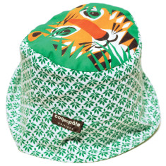 Sun hat in tiger