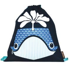 Organic cotton whale rucksack
