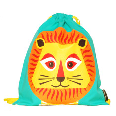 Organic cotton lion rucksack