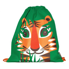 Organic cotton tiger rucksack