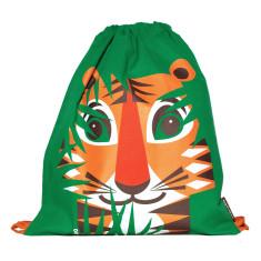 Organic cotton tiger rucksack