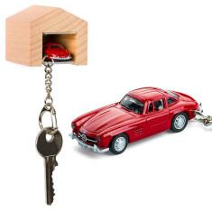 Mercedes-Benz 300 SL & beech wood garage key ring