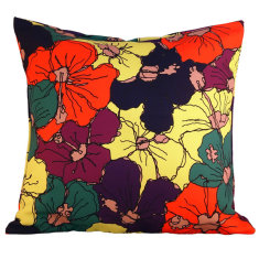 Corolla fields citrus cushion