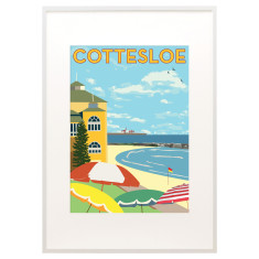 Cottesloe beach print