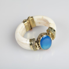 The Taj handmade cuff bangle