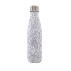 S'well insulated stainless steel bottle in Monochrome White Lace