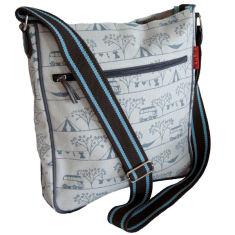 Tamelia cotton canvas Camping messenger bag