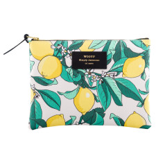 Woouf Pouch Large - Lemon