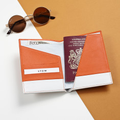 Handcrafted Luxury Soft Leather Passport Wallet