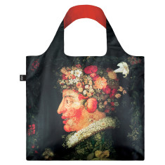 LOQI reusable bag in museum collection in spring