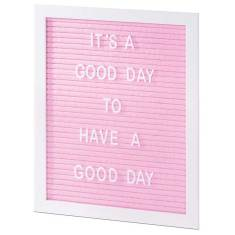 Medium Size Letter Board in Blue, Green or Pink