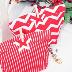 Very Berry Christmas gift bag (set of 2)
