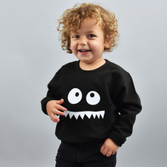 Monster Face Children's Sweatshirt