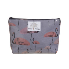 Flamingo party Makeup bag