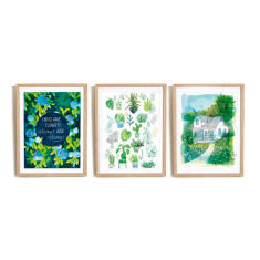 Happiness of Home archival art prints (set of 3)