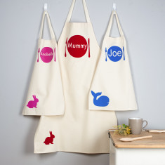 Personalised Apron Set For Adult and Child