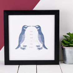 Penguin print