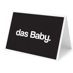 das Baby New Baby Card