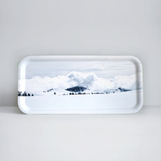Alpine Handcrafted Birch Wood tray