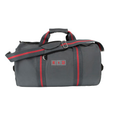 Personalised Grey Kit Bag