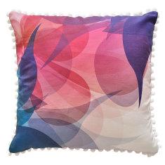 Luscious Girls Blossom Print Bedroom Cushion
