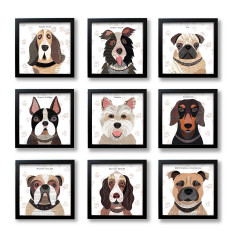 Dog print (37 breeds available)