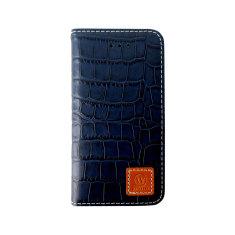 Croco leather Samsung Galaxy S5 case in Dark Brown