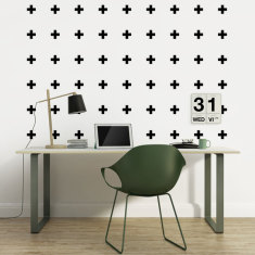 Crosses wall decal