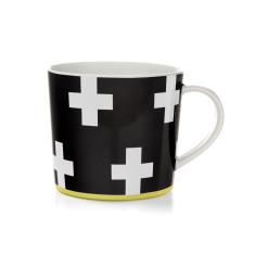 Crosses coffee mug in black