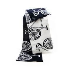 Bikes woollen scarf