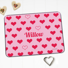Sweetheart personalised placemat