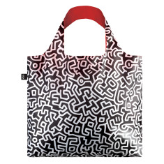 LOQI reusable bag in museum collection in keith haring
