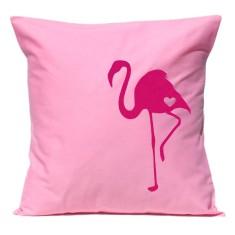 Flamingo handmade cushion cover